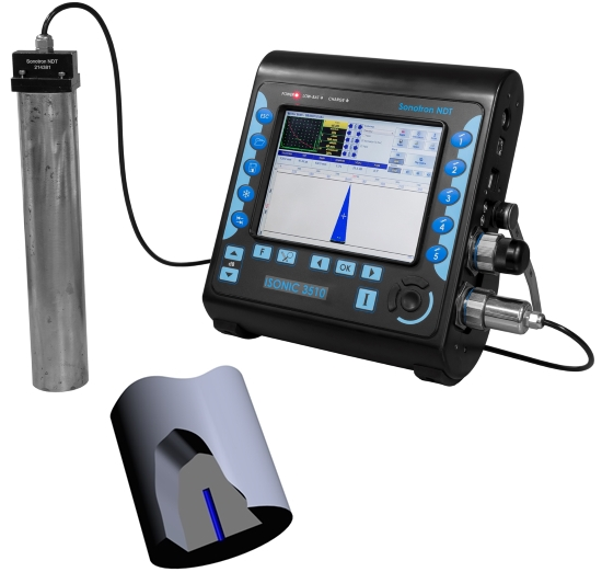 ISONIC 3510   Very Powerful Superior Performance Portable